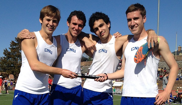 CNU 4x1500 Record Holders
